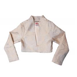 000530 LoFff  jacket - silver roses Z8194-04