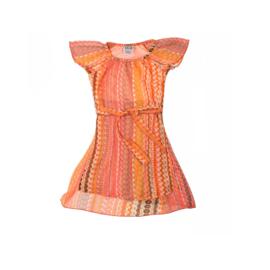 021 LoFff Layered chiffon jurk -Pink- Z7911-01