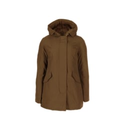 01 Airforce  Dames parka jas Coffee Liqueur W0051-651