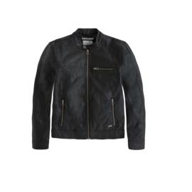 16 Pepe Jeans zwart jasje  maat 176