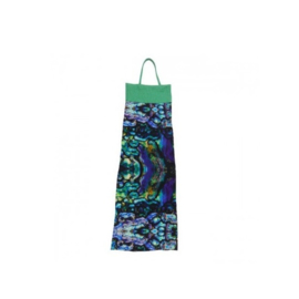 00 LavaLava Smocked jurk -Ecuador Blue- ZG-1031