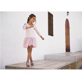 LoFff Charm jurk -nude/sand- Z7963-01