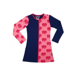 0001 Happynr1 Jurk -Pink/Blue- HP-18-208