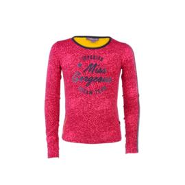 04 Ninni Vi shirt roze rood NVFW17-06
