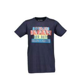 0006 Blue Seven shirt blauw  602665