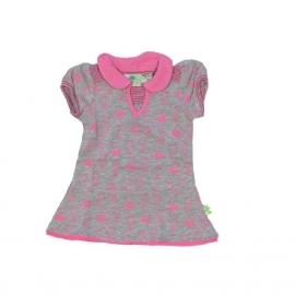 XS Feet jurk roze/paars D67x4