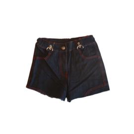 04 R.Y.B jeans dark blauw short E132 voordeel