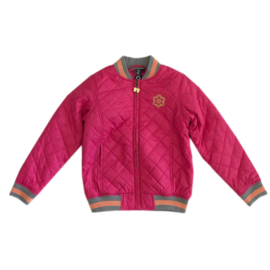 0001 Far out zomerjas roze maat 128