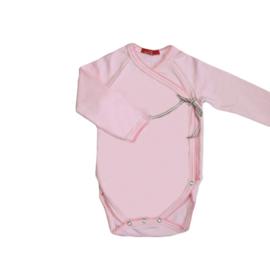 001 Hanssop roze romper maat 74/80