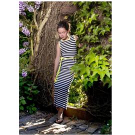 0001 LavaLava jurk Fresh zwart en wit 19-152