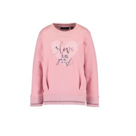 00 Blue Seven sweater roze 764595