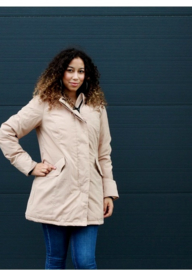 01 Airforce  Dames parka jas tawny Brown W0051-667