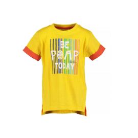 0001 Blue Seven shirt geel  802166