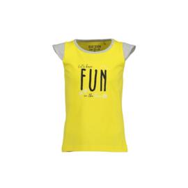 000331 Blue Seven shirt geel 700038