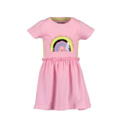 0001 Blue Seven jurk roze 721587
