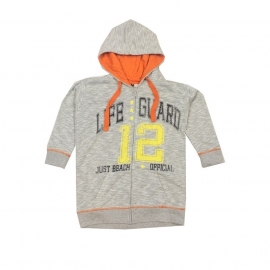 10 Just Beach grijs vest maat 140