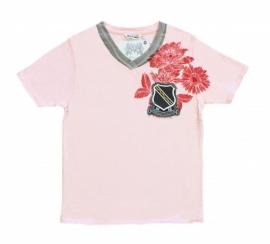 16 Airforce shirt roze 6165 maat S voordeel