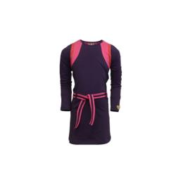 0 LoFff  jurk Geo purple Z8403-40