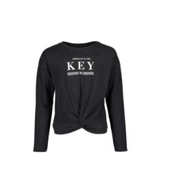 00002 Blue Seven knitted shirt zwart 551629