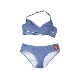 001 ZEE & ZO Tulip Stripe Blue bikini