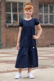 0 LoFff jurk blauw maxi Z8558-55
