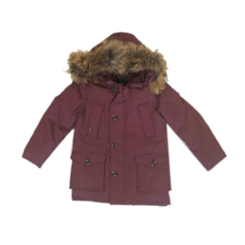 1 Airforce winterjas parka hr72m0075 RF bordeaux maat 128-134
