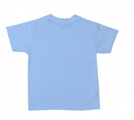 04 Hanssop blauw shirt maat 104