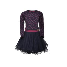 13 LoFff  jurk Dancs Grazia blue Z8476-45