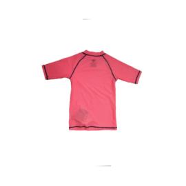 ZEE & ZO Sunflower Coral Stripe UV shirt