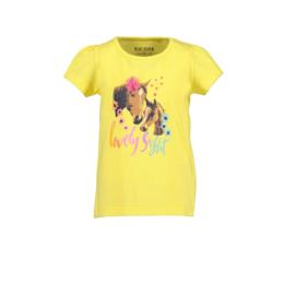 00001 Blue Seven shirt geel 702199