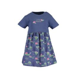 0008 Blue Seven jurk blauw 911034