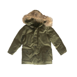 001 Airforce winterjas parka hr72m0075 RF GREEN maat 128-134