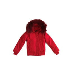 001 Airforce winterjas bomber red hr72w0130 maat 122-128
