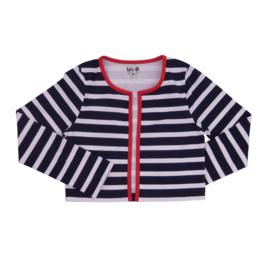 00013 LoFff Jacket-Blue red stripes Z8344-07