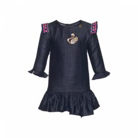001 Mim-Pi 48 jurk blauw