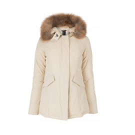 0011  Airforce  parka jas white HR72W10102  RF