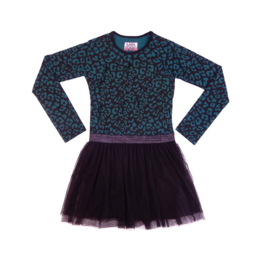 001 LavaLava jurk  19-248A groen