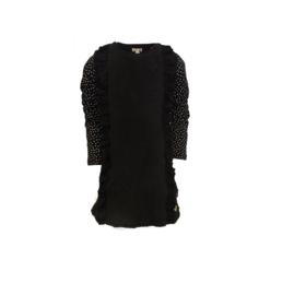 15 LoFff  jurk teddy zwart Z8418-95