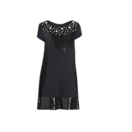 08 Twin Set  jurk zwart  GA62HC maat 128 (8)