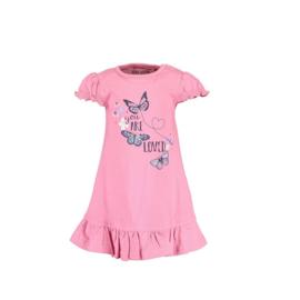 0 Blue Seven jurkje roze vlinder  911040