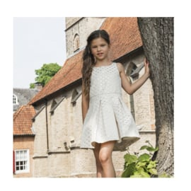 0000531 LoFff jurk jacquard dots dress Z8188-03