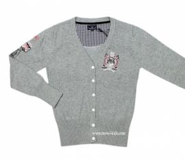 01L`Argentina vest grijs maat M
