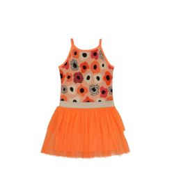 01 LoFff jurk swirling peach Z8357