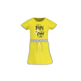 00034 Blue Seven jurk geel 721575