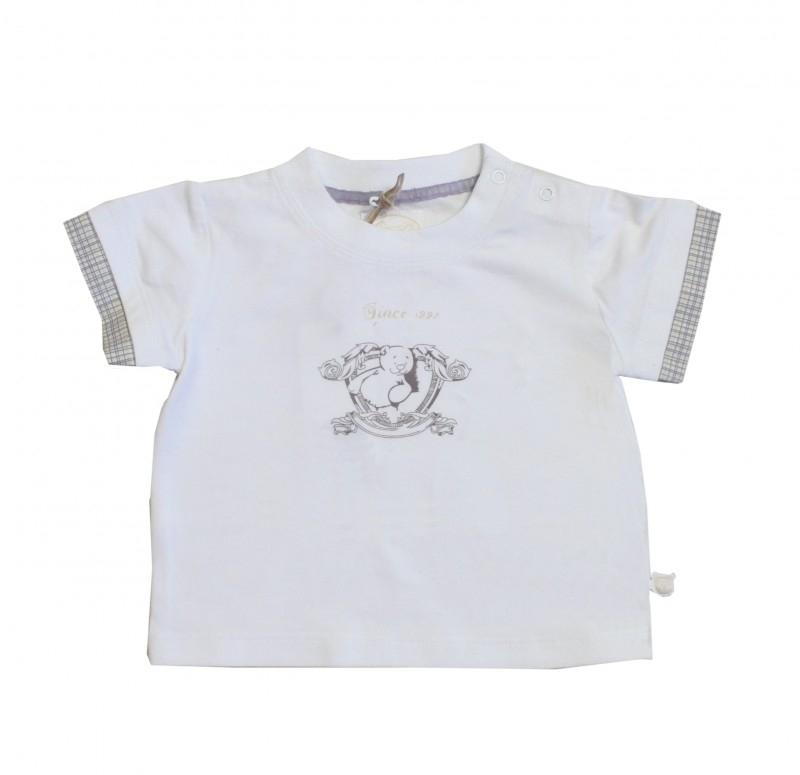 04  Noukie`s wit shirt maat 104