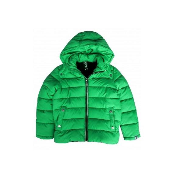 0001  Far out jongens winterjas  Groen model Monkey