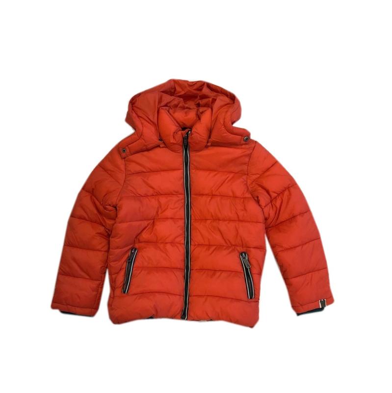 061 Far out jongens winterjas oranje model maat 116-122