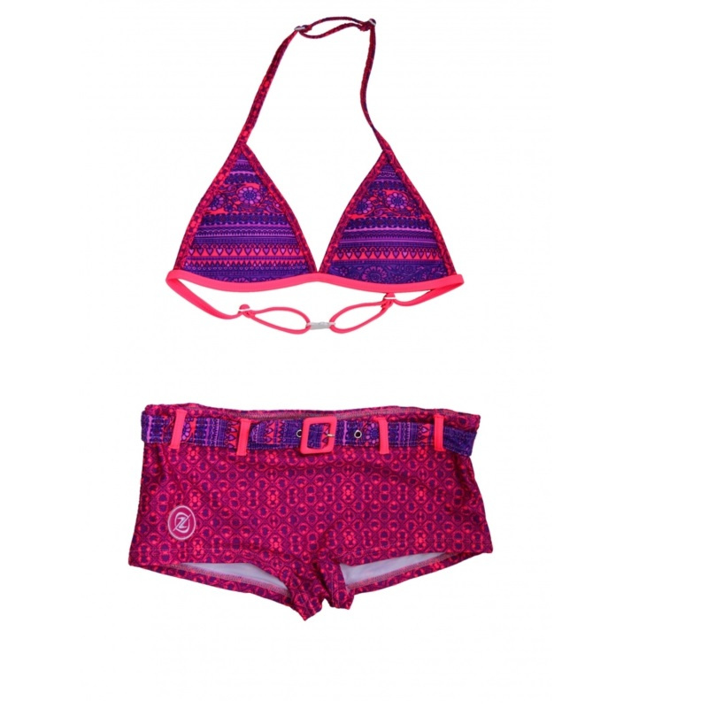 001 ZEE&ZO Bikini Grace Bay Indian Purple
