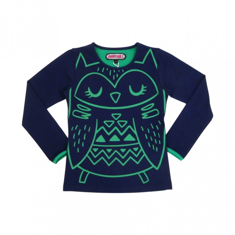 00005 HappyNr1 longsleeve  Big Owl  Hp-19-204
