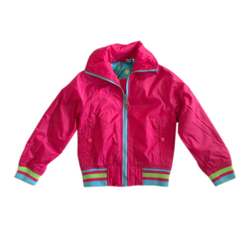 01 Far out zomerjas roze maat 104-110